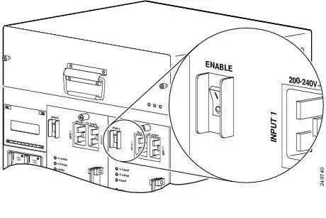 3300 W AC PEM Module for Cisco UBR10012 Broadband Router