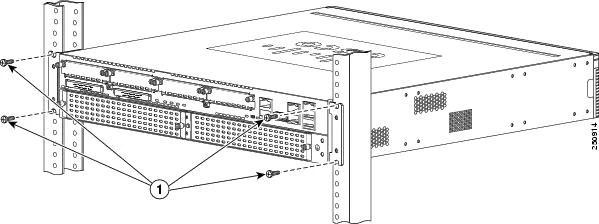 CISCO 2900-2800 ACS-2900-RM-19 Rack Mount Kit