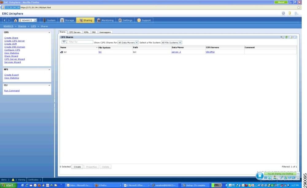 medium resolution of example of a emc cifs nfs volume configuration