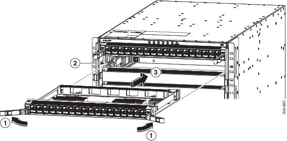 Cisco Nexus 9504 NX-OS Mode Switch Hardware Installation