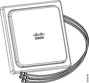 Cisco Aironet Four-Element, MIMO, Dual-Band Ceiling Mount