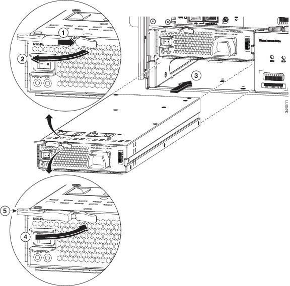 Cisco Nexus 9504 ACI-Mode Switch Hardware Installation