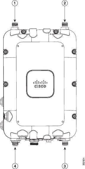 Cisco Aironet 1570 Series Outdoor Access Point Hardware
