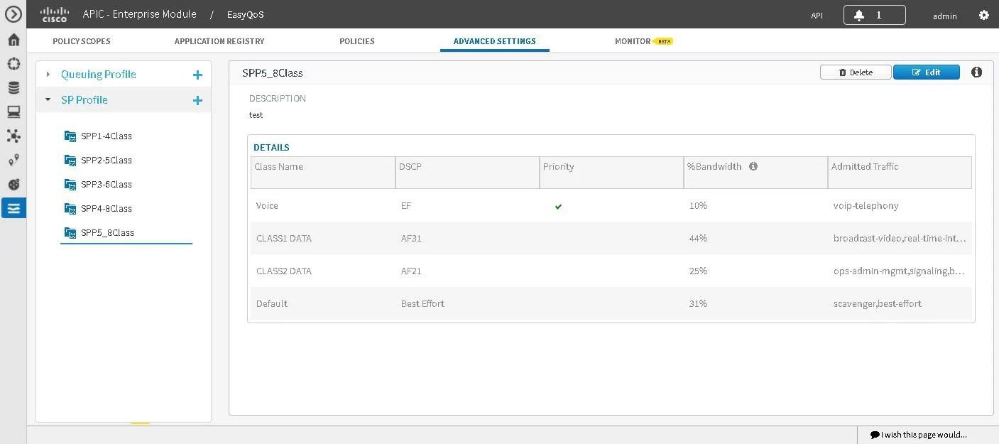Cisco EasyQoS Application for APIC-EM User Guide, Release