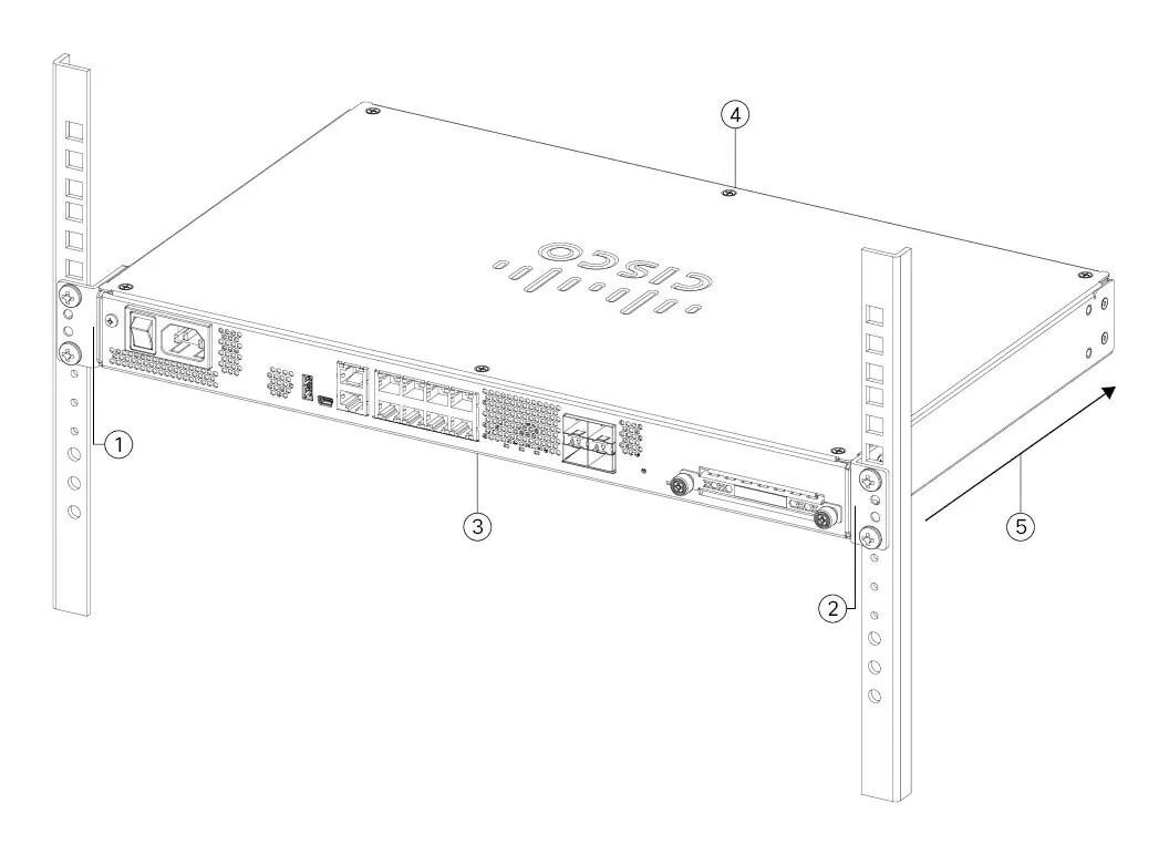 Cisco Firepower 1100 Series Hardware Installation Guide