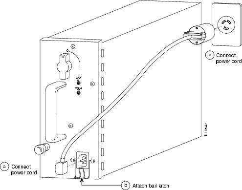 Cisco 12008 GSR AC-Input Power Supply Replacement