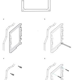 the following diagram illustrates attaching a cisco ip phone 7800 and 8800 series wall bracket to a wall  [ 900 x 1381 Pixel ]