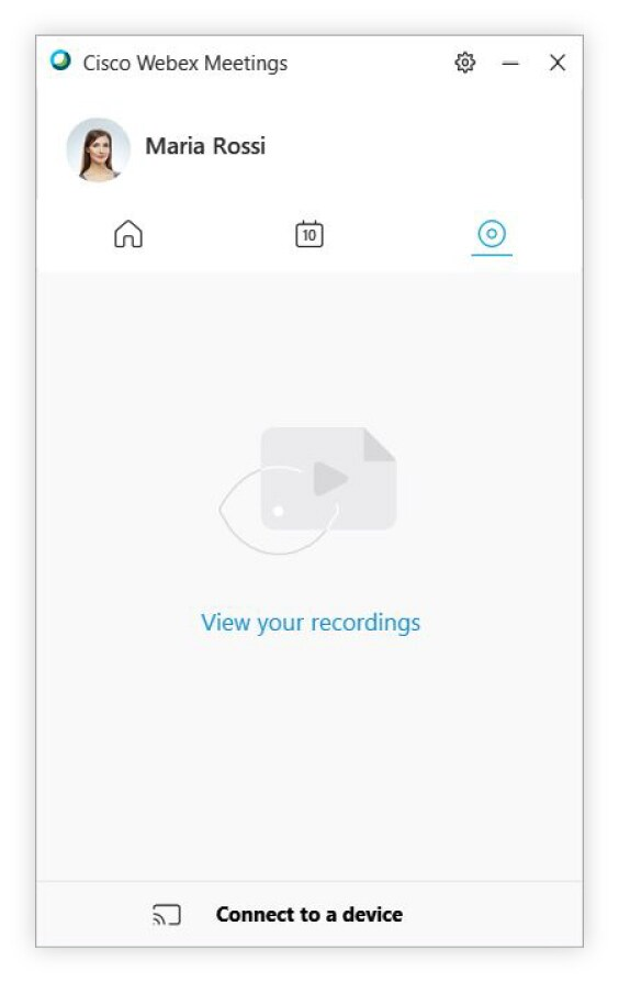 Use the Cisco Webex Meetings Desktop App