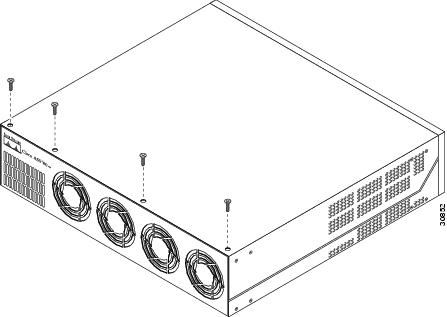 Replacing the Power Supply in the Cisco AS5300 Series and