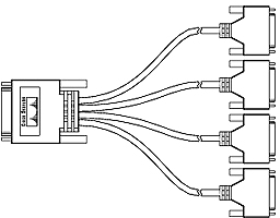 the 8 port rs 232 asynchronous synchronous hwic provides 8