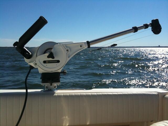 Trolling Rod Cannon Holder Fishing