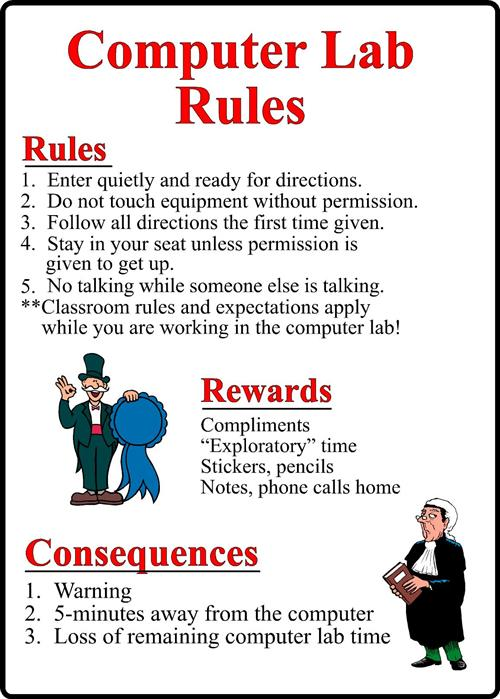 classroom rules for elementary