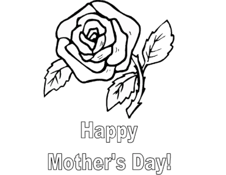 Best 30 Free Printable Mother S Day Coloring Pages 2020
