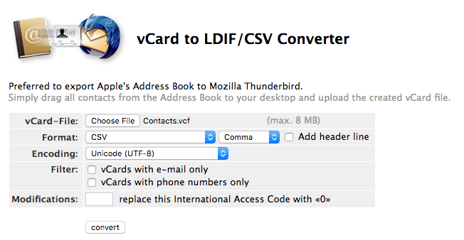 How To Export Mac Contacts To Csv And Excel Macos Catalina