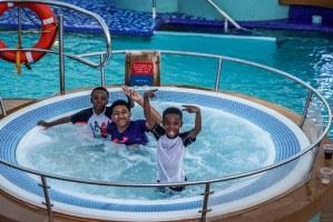 boys in hot tub