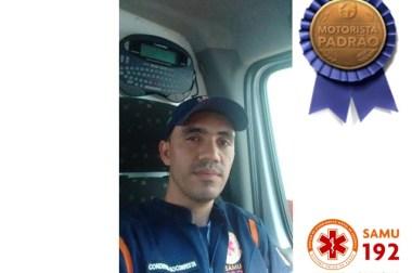 Condutor Socorrista do SAMU Macro Nortevai receber prêmio de motorista padrão do Estado