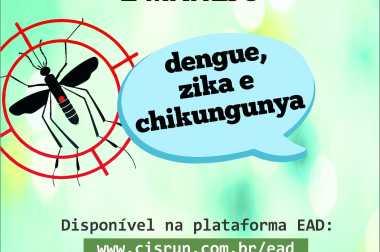 Colaboradores do SAMU passam por treinamento para identificação de doenças causadas pelo Aedes aegypti