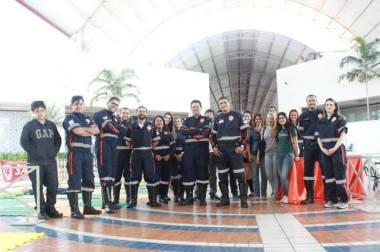 SAMU mobiliza População no Shopping para Dia Nacional de Reanimação Cardiopulmonar