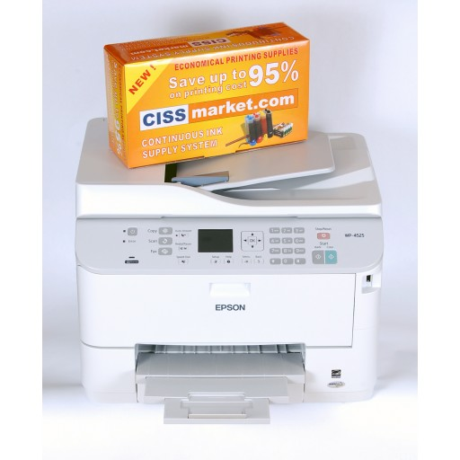 Multifunctional Epson WorkForce Pro WP-4595 DNF cu cartuse refilabile