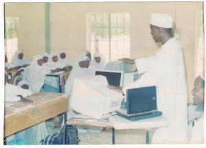 Mallam Ahmed Yakasai addessing students of GGASS Birniwa