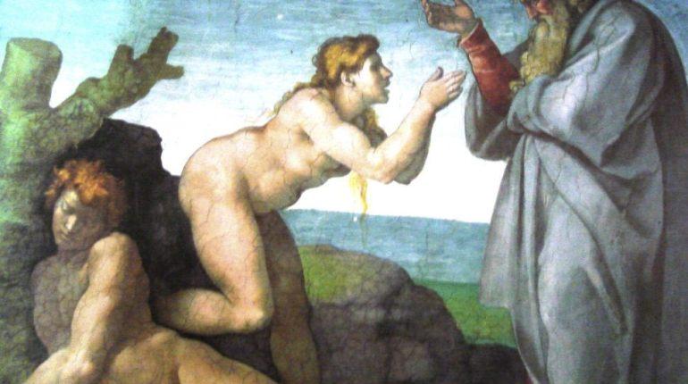 De schepping van Eva - Michelangelo