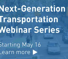 CITE Partners with SFU on Next-Generation Transportation Webinar Series