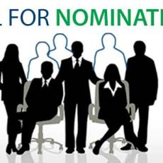 Nominations for Executive Committee Close March 20th
