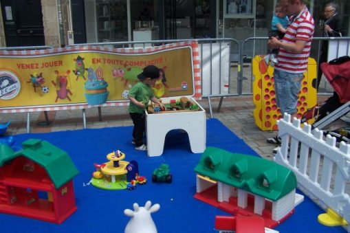 Fête du jeu, place de La Motte, Limoges