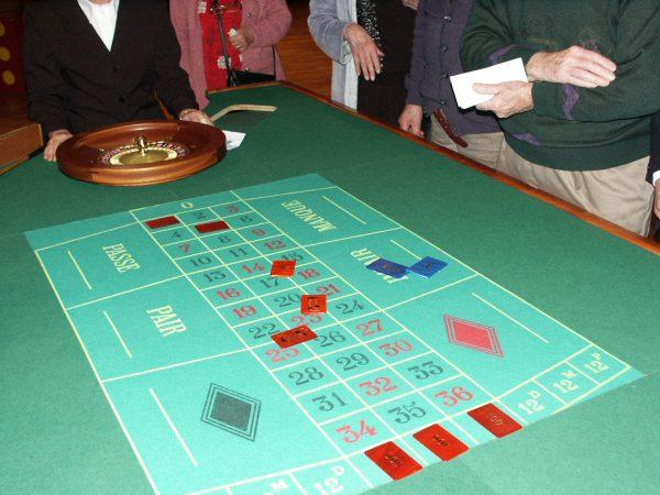Casino Table roulette