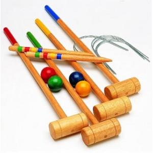 Croquet 4 ou 8 enfants bois ou plastique