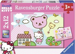 Puzzle hello Kitty 2x20 pièces