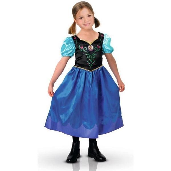 Costume Anna 5 à 6 ans Reine des Neiges