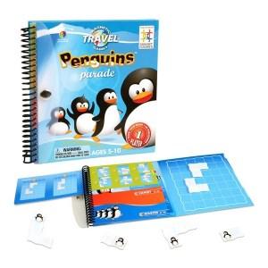 Casse-tête La marche des pingouins - jeu de voyage magnétique