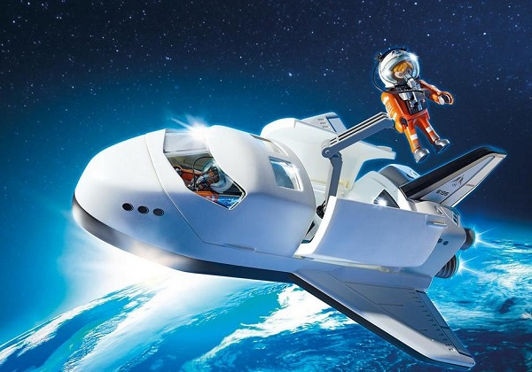 Playmobil Navette spatiale et spationautes ref 6196