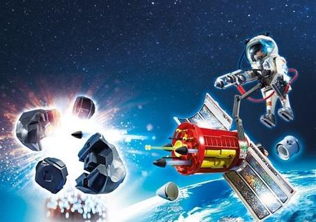 Playmobil Satellite avec laser et météoroïde ref 6197