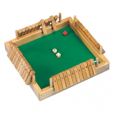 Shut the box 4 joueurs