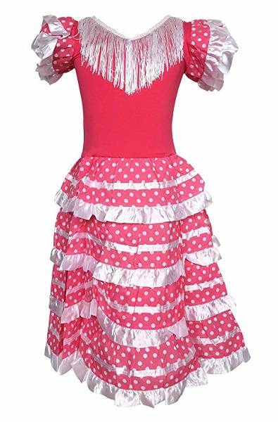 Costume robe Flamenco 2 ans