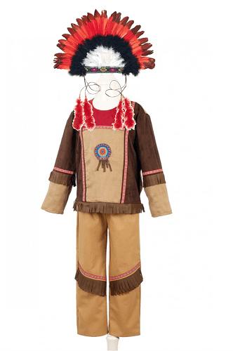 Costumes indien et sa coiffe 3à6ans ou 6à8ans