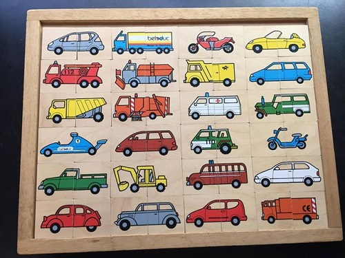 Puzzle des transports Beleduc