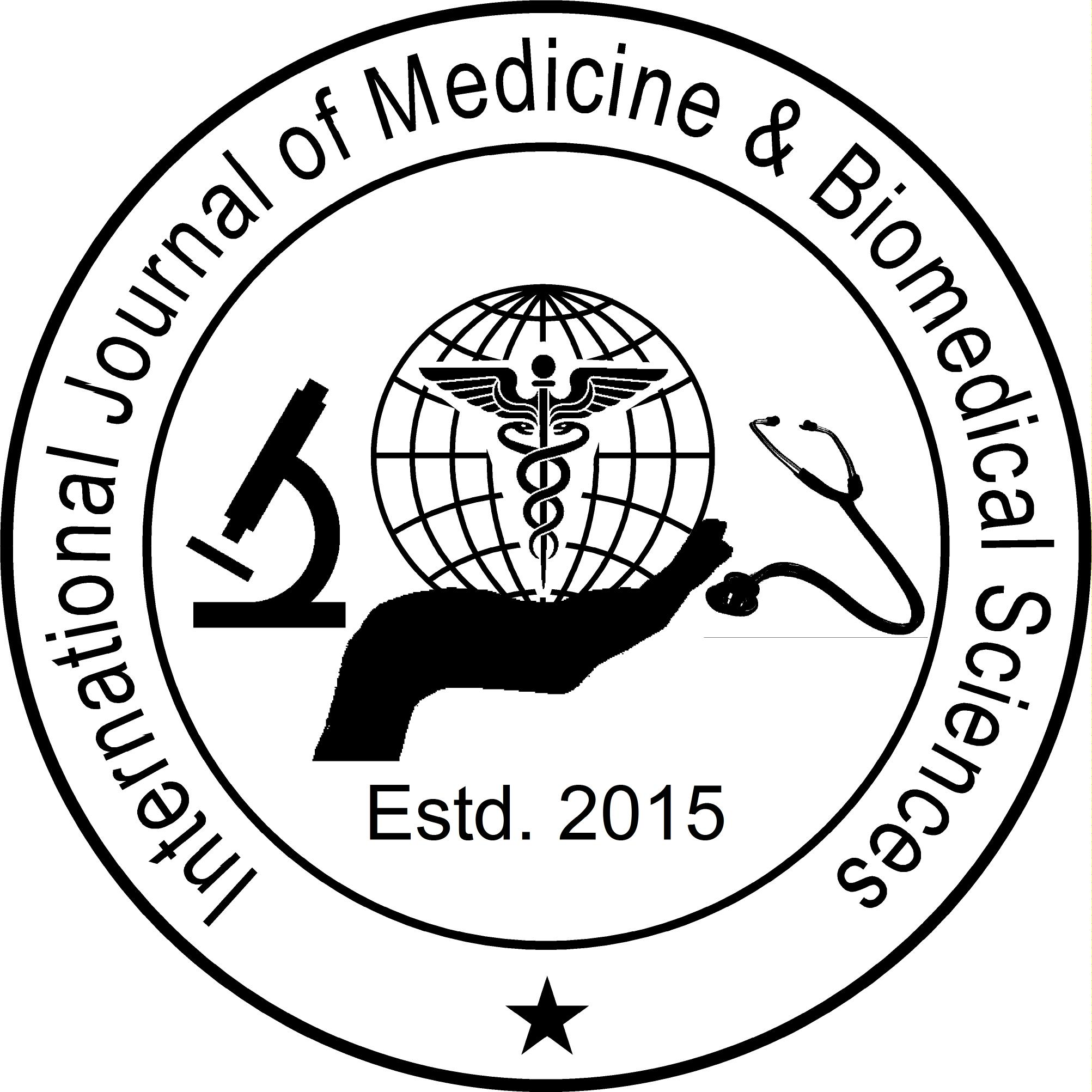 International Journal of Medicine & Biomedical Sciences