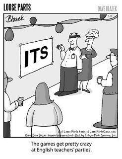 english teacher party