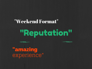 -Weekend Format-