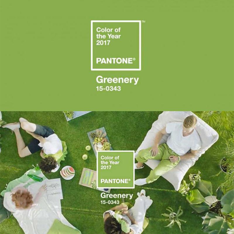 vert Greenery Pantone