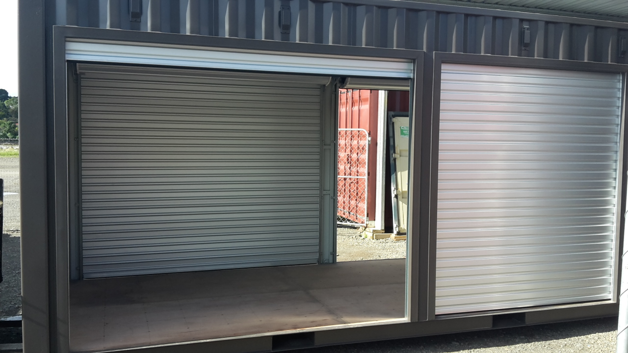 ROLLER DOOR ACCESS SHIPPING CONTAINER CTBURD Citi Box