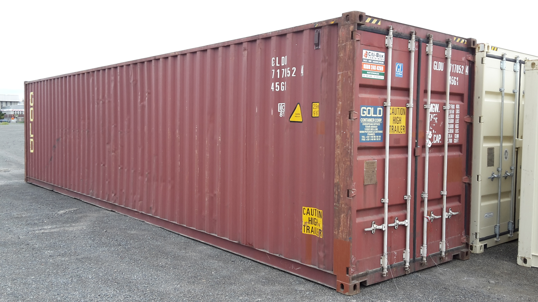 40 High Cube Shipping Container Iicl Economy Grade
