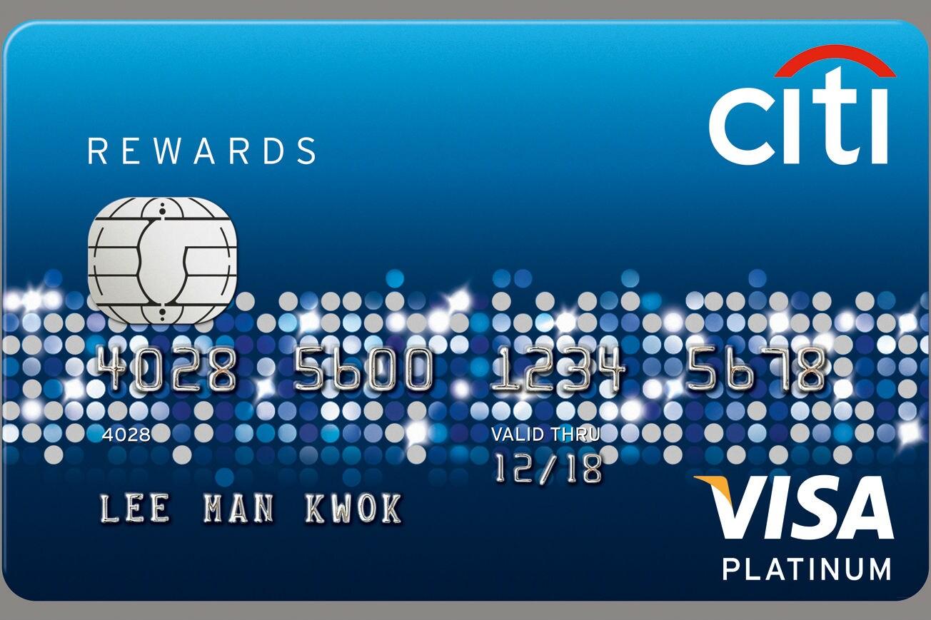 Citi Rewards信用卡5X積分全年享