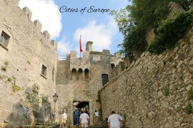 Крепостта Честa