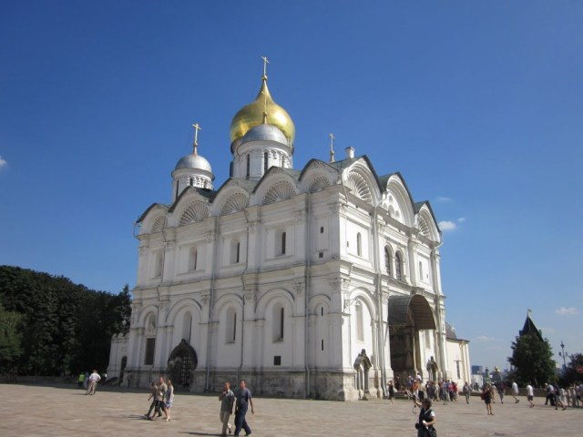 cathedral archangel mihail moscow