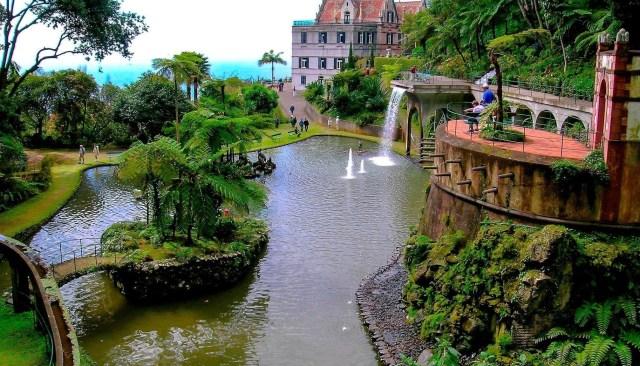 източното крайбрежие на Мадейра-Монте Палас