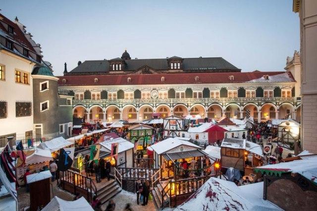 Коледният базар в Дрезден
